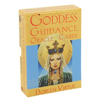 A 44 card deck of Goddess Guidance Oracle Tarot cards by Dorreen Virtue.