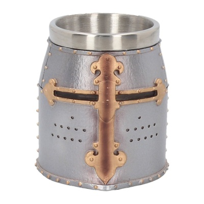 Crusader shot glass