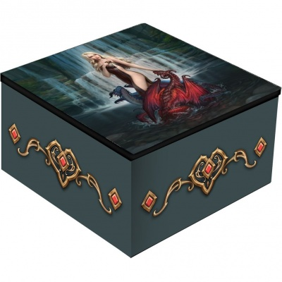 Dragon Bathers Mirror Box