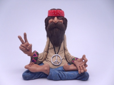 "HIPPY ""PEACE MAN"" GRANDE"