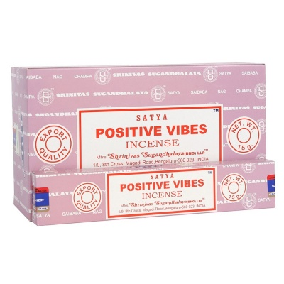 Positive Vibes Incense Sticks by Satya