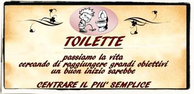 targhette in metallo - Targhe Per Toilette