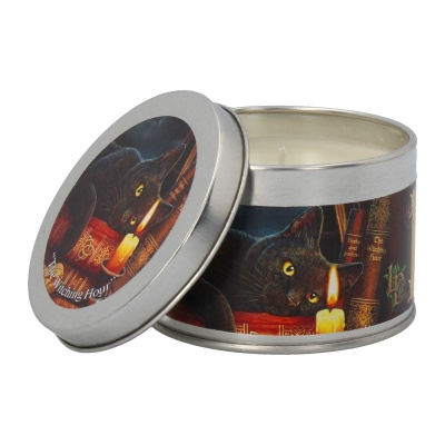 The Witching Hour Tin Candle