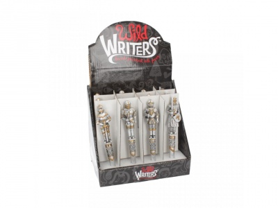 Wild Writers Medieval Knight Pen16cm